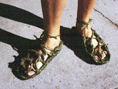 Ti sandals
