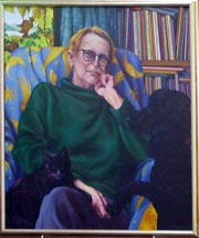 Margaret Mahy portrait