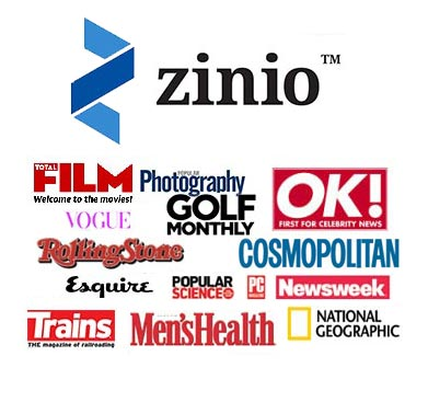 Zinio for Libraries offers you access to over 200 magazines