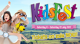 School holidays and KidFest
