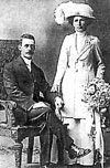 On 8 February 1911 Bella married Augustus Frederick Lipscombe Moore, a 31-year-old Rolleston farmer