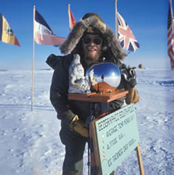 Henry and Charlie at the South Pole