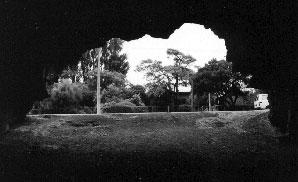 View from the interior of Te Ana o Hineraki