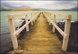 Rāpaki jetty