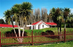 Ngati Moki Marae buildings
