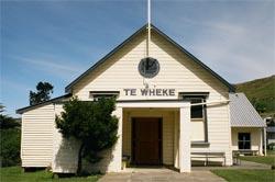 Te Wheke, the Rūnaka Hall, 2005
