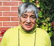 Matapi Briggs, Koukourarata kaumatua, photographed outside her home in Central Christchurch.