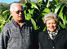 John Panirau and Naomi Bunker
