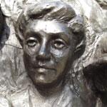 Photo of Ada Well's memorial