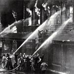 Ballantynes' Fire - Christchurch, 18 November, 1947