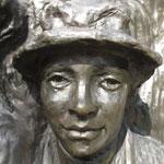 Photo of Harriet Morison's memorial