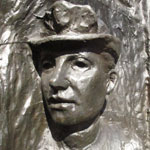 Photo of Helen Nicol's memorial