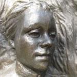 Photo of Meri Te Tai Mangakahia's memorial