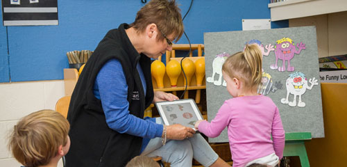 Digital storytelling with preschoolers