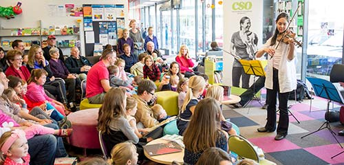 CSO at Central Library Peterborough