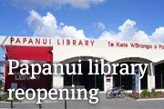 Papanui library reopening Friday 29 August