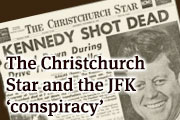 The Christchurch Star and the JFK 'conspiracy'