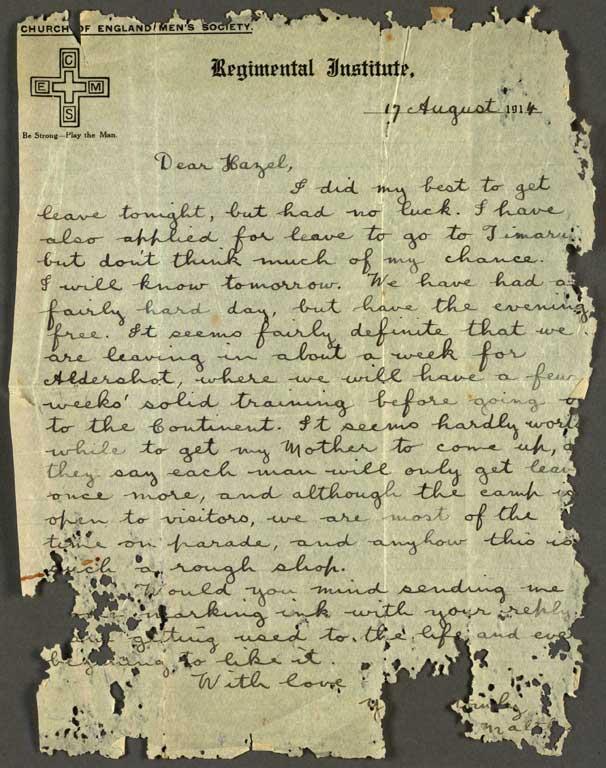 WW1 Army Service Records 1914 - 1920