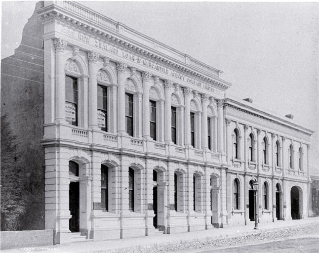 New Zealand Loan and Mercantile Agency building, Timaru.