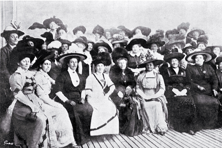 Members of the Women's Social and Political League