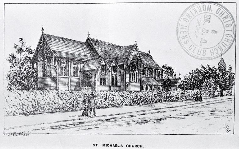 St. Michael's Church, Christchurch [ca. 1885]