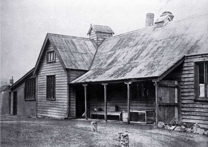 House brought from England by Rev. Charles Richard Mackie (1798-1882)