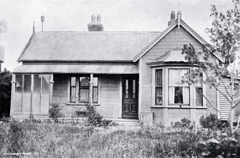 Scene of murder, Spreydon, Christchurch