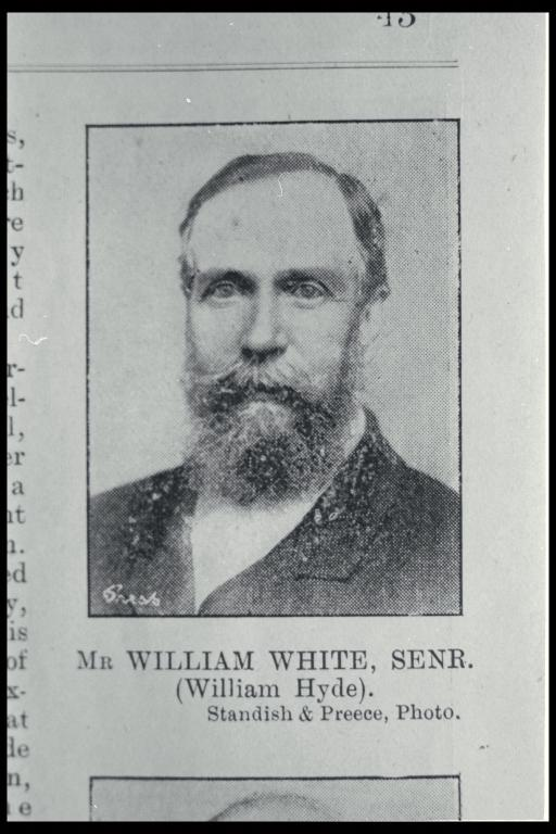 William White snr (1824-1899)