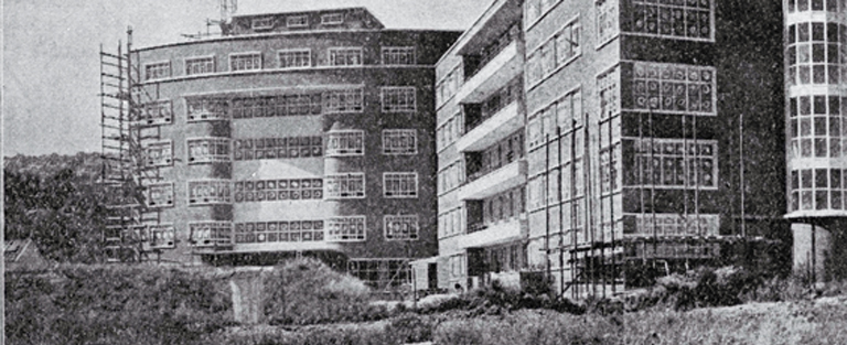Cashmere (later Princess Margaret) Hospital, shown under construction [1956]