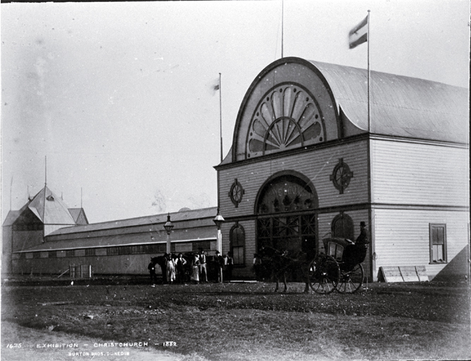 New Zealand International Exhibition, Hagley Park, Christchurch [1882]