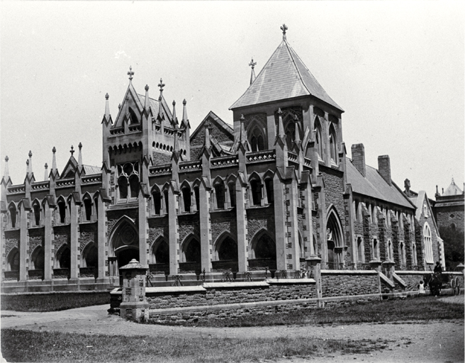 The old Supreme Court building, Christchurch