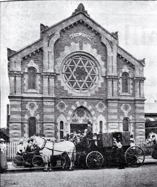 Beth El Synagogue, Christchurch [1901]